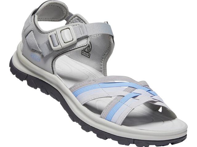 Keen Terradora II Strappy Open Toe Sandals Women, grey/hydrangea